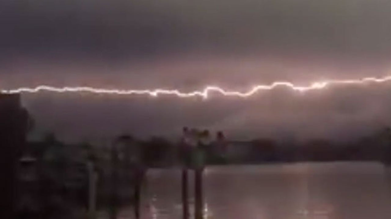 Treasure Island, Florida Horizontal Lightning