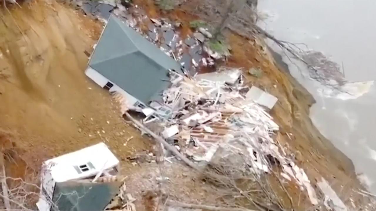 Days of heavy rain triggered the devastating collapse