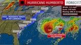 Hurricane Humberto to Pass Near Bermuda Tonight