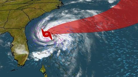 Humberto nahe Bermuda zu Hurrikan hochgestuft