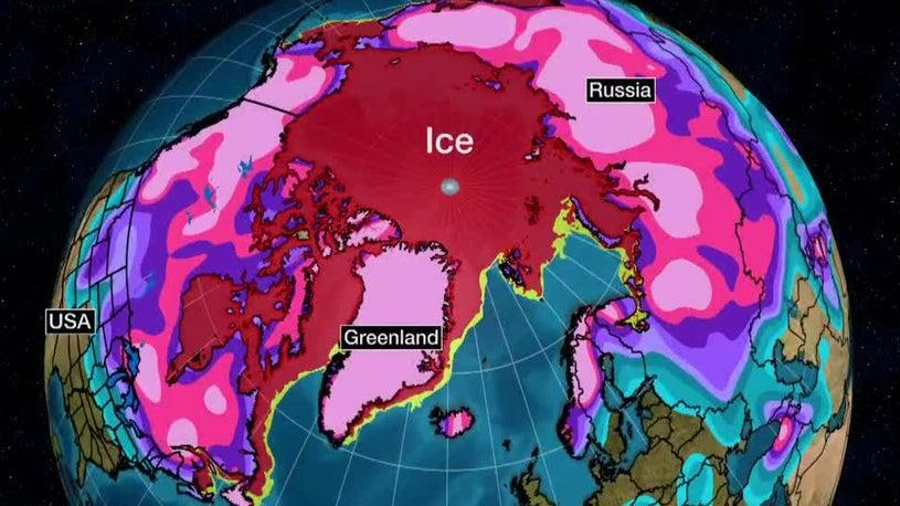 Polar Vortex Beefs Up Arctic Sea Ice
