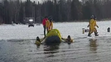 Anglers Stranded on Ice Rescued in Northern Minnesota