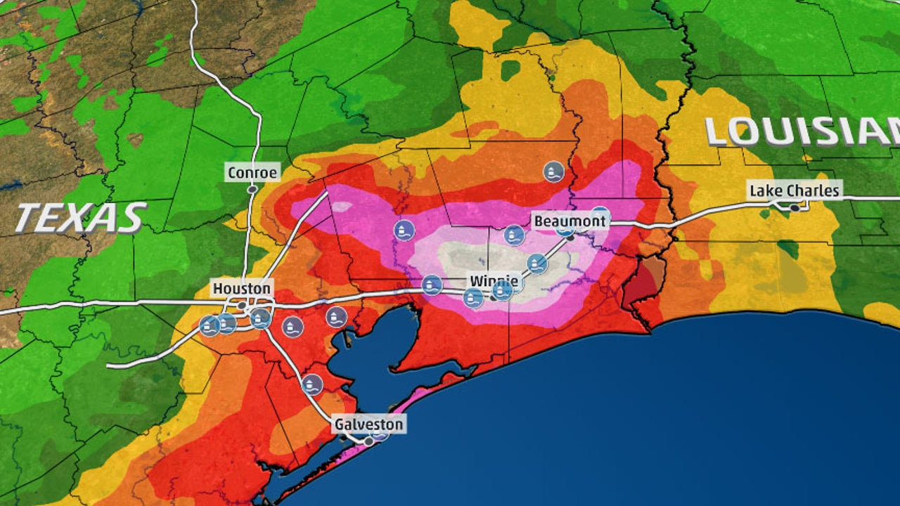 Imelda S Rain Causing Flooding Emergency In Texas The Weather