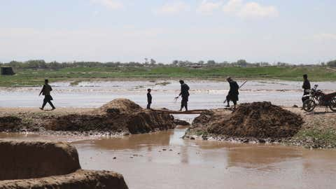 File photo of flooding in Afghanistan (Xinhua/Mohammad Jan Aria/IANS)