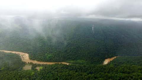 Aghanashini river. (Dr T.V. Ramachandra)