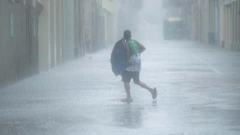 File photo of a typhoon period in China's Macao (Xinhua/Cheong Kam Ka/IANS)