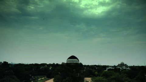 Dark clouds over Delhi. (Rajesh Mehta/BCCL Delhi)