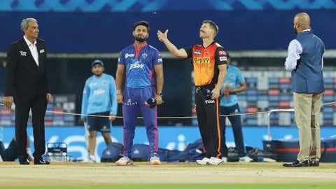 IPL 2021: DC Vs SRH (BCCI/IPL/IANS)