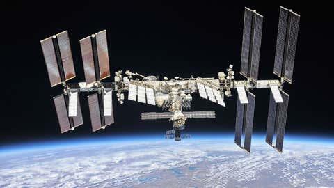 국제 우주 정거장 (NASA)