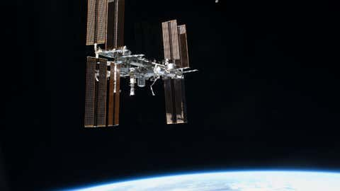 International Space Station.(NASA)