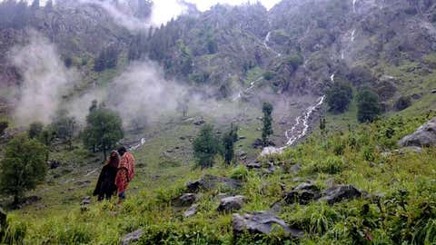 A view of Aru Valley in Jammu and Kashmir's Pahalgam (IANS)