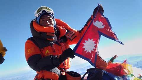 Nepal's Kami Rita Sherpa. (IANS)