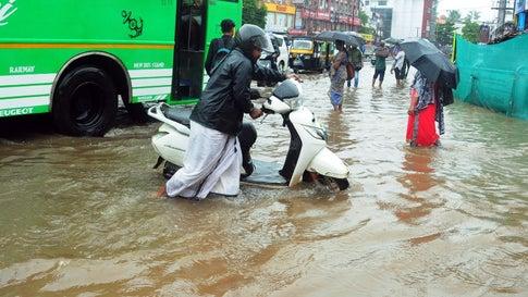 Heavy Rains Kill 2 in Kerala, 7 Fishermen Missing
