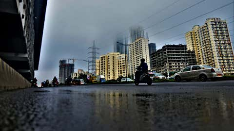 Rains in Mumbai on Monday, September 27. (Uma Kadam / BCCL, Mumbai)
