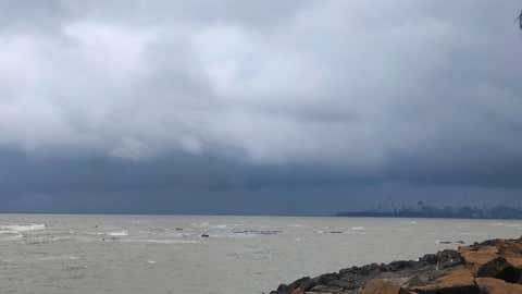 Clouds hovering over Mumbai on Tuesday, September 28 (Meghan Patankar / Mumbai)