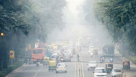 File photo of pollution over Delhi (Rajesh Mehta / BCCL, Delhi)