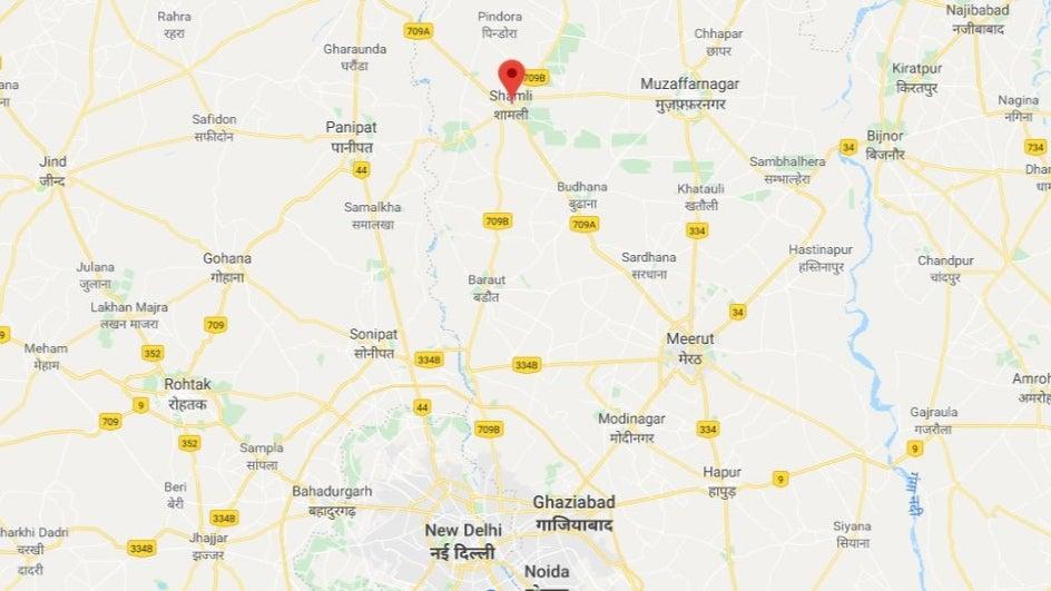 Tremors Felt In Delhi Ncr After Quake In Uttar Pradeshs Shamli District
