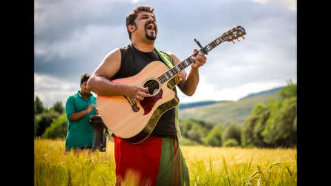 Singer-Composer Raghu Dixit, known for Indian folk music, speaks about animal welfare (Daisy Costello and Gaurav Vaz)