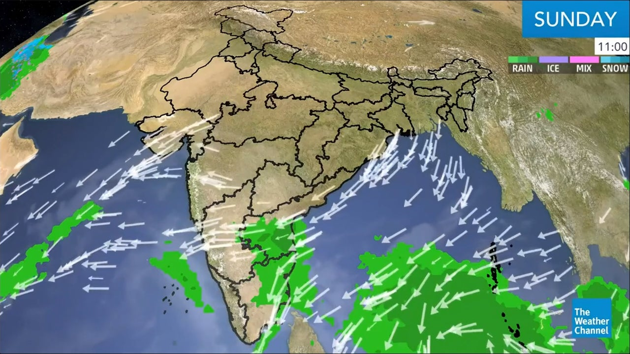 Here's our latest weather outlook for India.