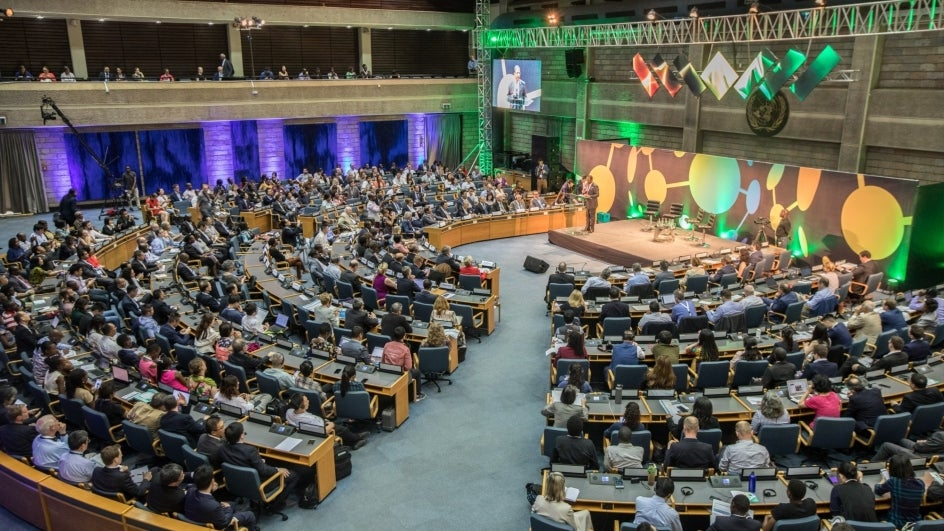 India Bats for Plastic Ban and Nitrogen Management at UN
