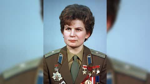 Valentina Tereshkova. (RIA Novosti archive/Wikimedia Commons)