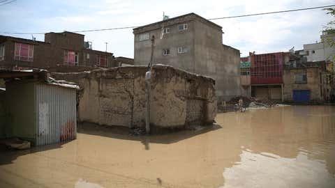 File photo of floods in Afghanistan in 2019. (Xinhua/Rahmat Alizadah/IANS)