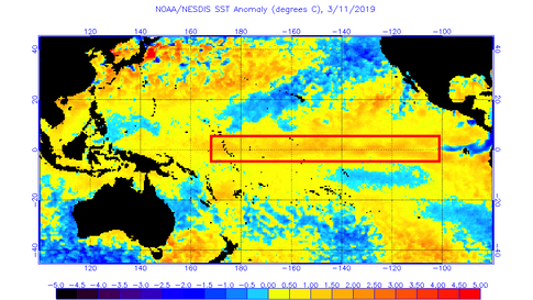 El Niño Strengthens, More Likely to Continue During Monsoon Months