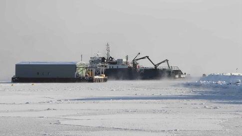 Record Temperatures Cause Unprecedented of Arctic Ice