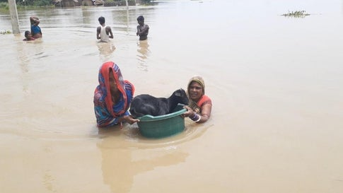 Bihar's Ordeal Continues as Flood Waters Enter More Areas
