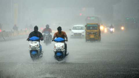 File photo: Heavy rain over Chennai, Tamil Nadu (Ramesh Shankar R/TOI, BCCL, Chennai)