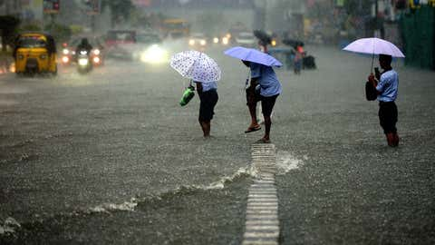 Heavy rains lashed parts of Chennai on January 5, 2021.