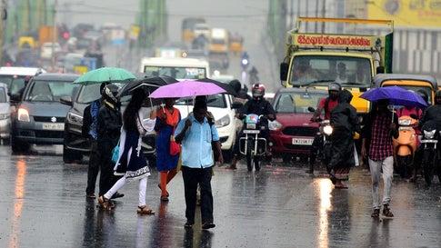 Image result for rain tamil nadu orange alert