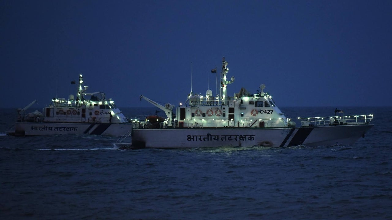 The Coast Guard said that Anasthasia-1, which was enroute to Dubai with 24 crew onboard, experienced a total power failure since Thursday and threatened the bio-sensitive ecology of the pristine Nicobar Islands.