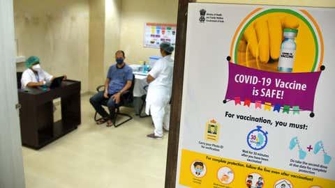 COVID-19 vaccine dry run was held in Mumbai.