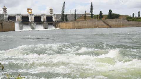 A dam in Karnataka. (Madhusudhan R/TOI, BCCL, Mysuru)