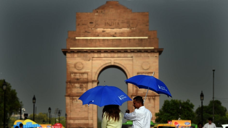 Thunderstorm and lightning will greet the winners of Election 2019 in New Delhi.