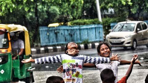Rains over Delhi (Anindhya Chattopadhyay/TOI, BCCL, Delhi)