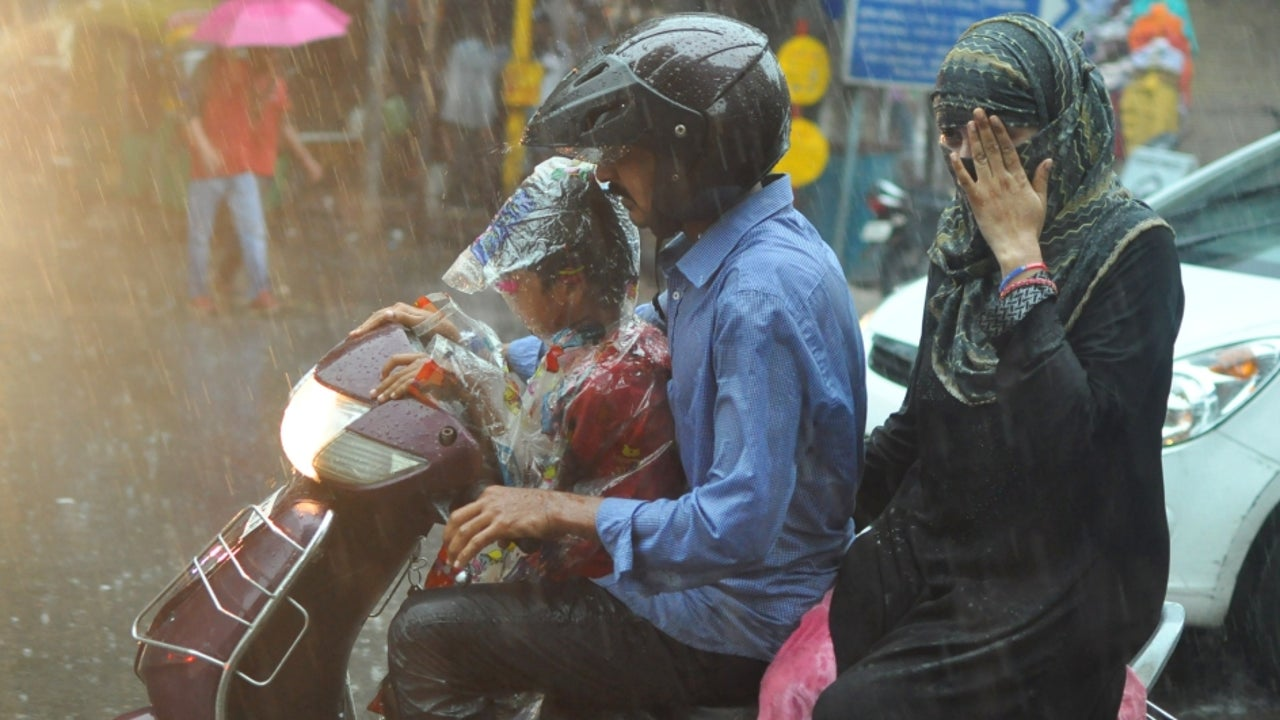Nine states and union territories across north and northwest India have been placed under orange alert, owing to the high possibility of wet weather.