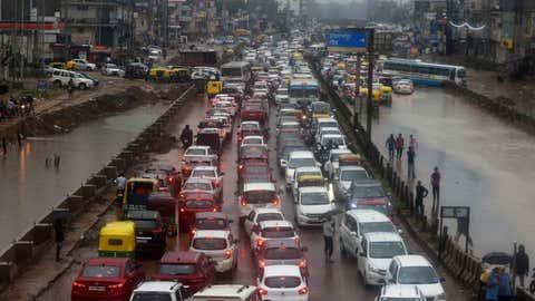 Heavy rain floods most areas of Delhi-NCR on Monday, July 19. (Indranil Das/BCCL, Delhi)