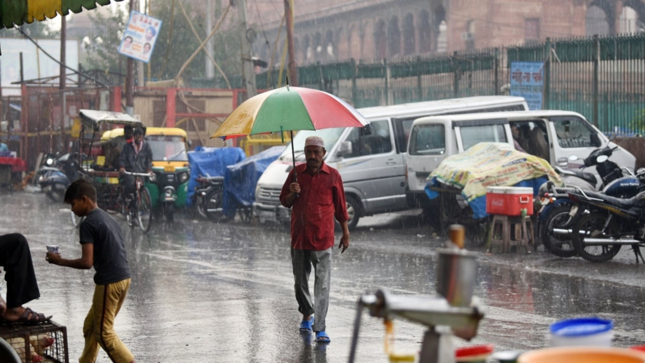 The disturbance is likely to cause light isolated rainfall over Delhi, Punjab, Haryana, and Chandigarh.