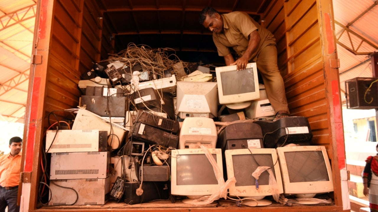 The report also predicts global e-waste—discarded products with a battery or plug—will reach 74 Mt by 2030, almost a doubling of e-waste in just 16 years