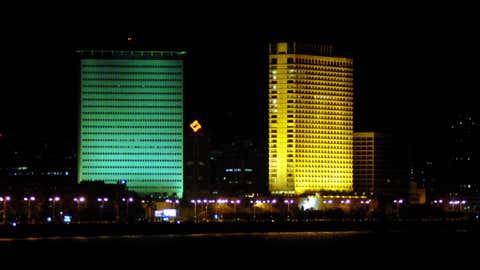 Earth Hour in Mumbai. (Hemant Shirodkar/TOI, BCCL, Mumbai)