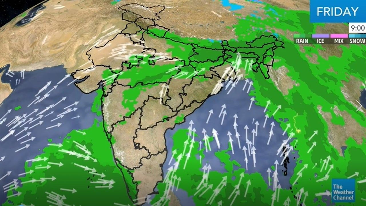 ere's our latest weather update from India.