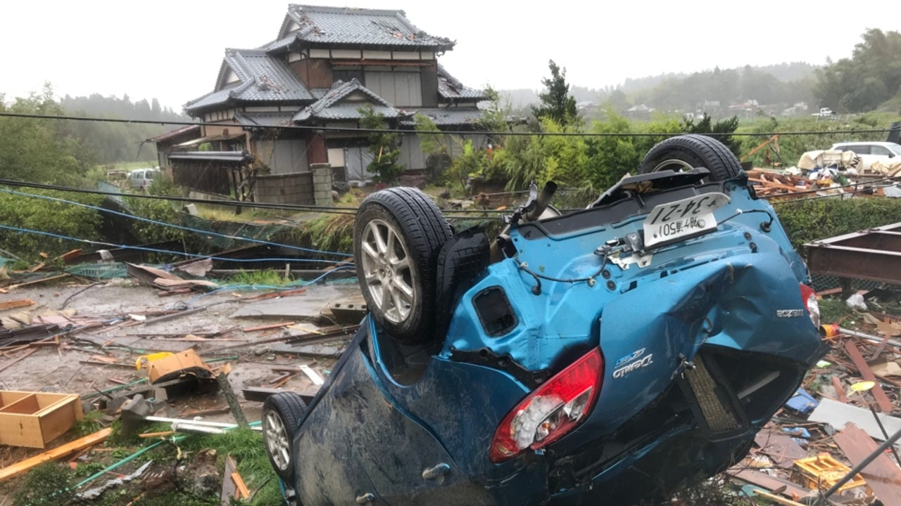 Search-and-rescue operations continued on Monday in parts of central, east and northeast Japan that were struck over the weekend by the super typhoon Hagibis, which left more than 30 people dead and caused severe flooding.
