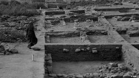 Harappan city, Dholavira. (UNESCO/Twitter/IANS)