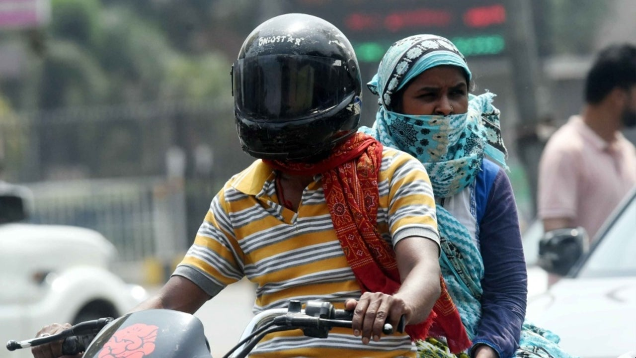 Gaya and Patna recorded temperature above 45 degree Celsius on Saturday.