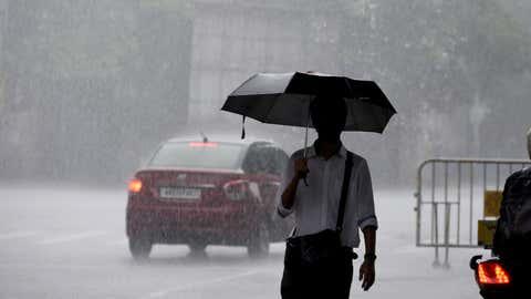 Heavy Rains. (Subhrajit Chandra/TOI, BCCL)