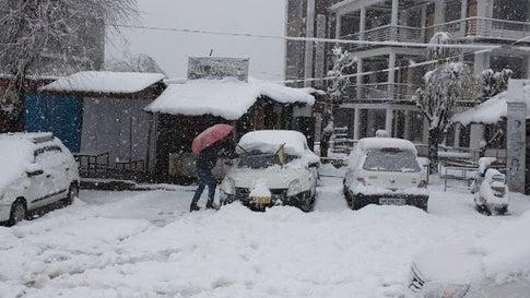 Image result for himachal pradesh snowfall