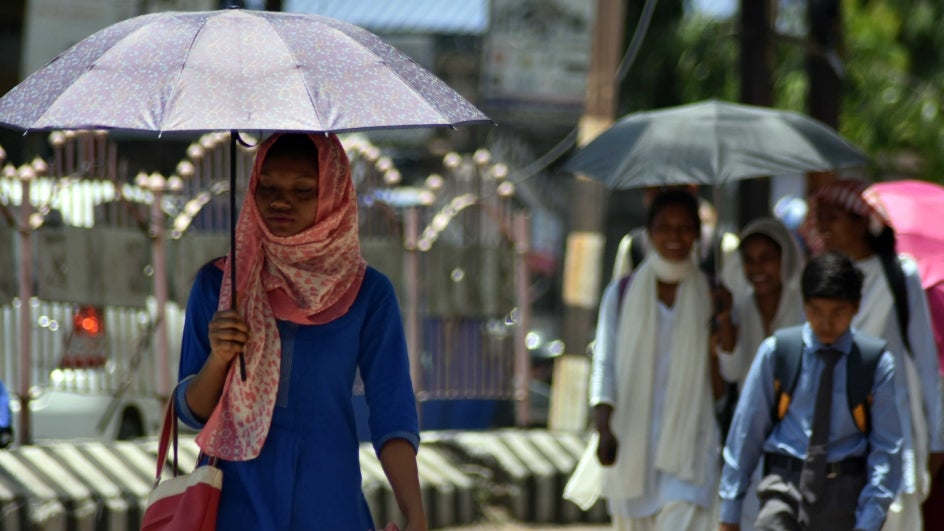 'El Niño Modoki' and lack of moisture in the soil to trigger the heatwave conditions in India
