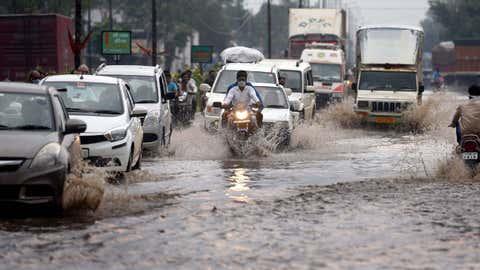 File photo: Heavy rains cause waterlogging in Indore, Madhya Pradesh (Pravin Barnale/BCCL Indore)